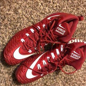 Brand new nike football cleats